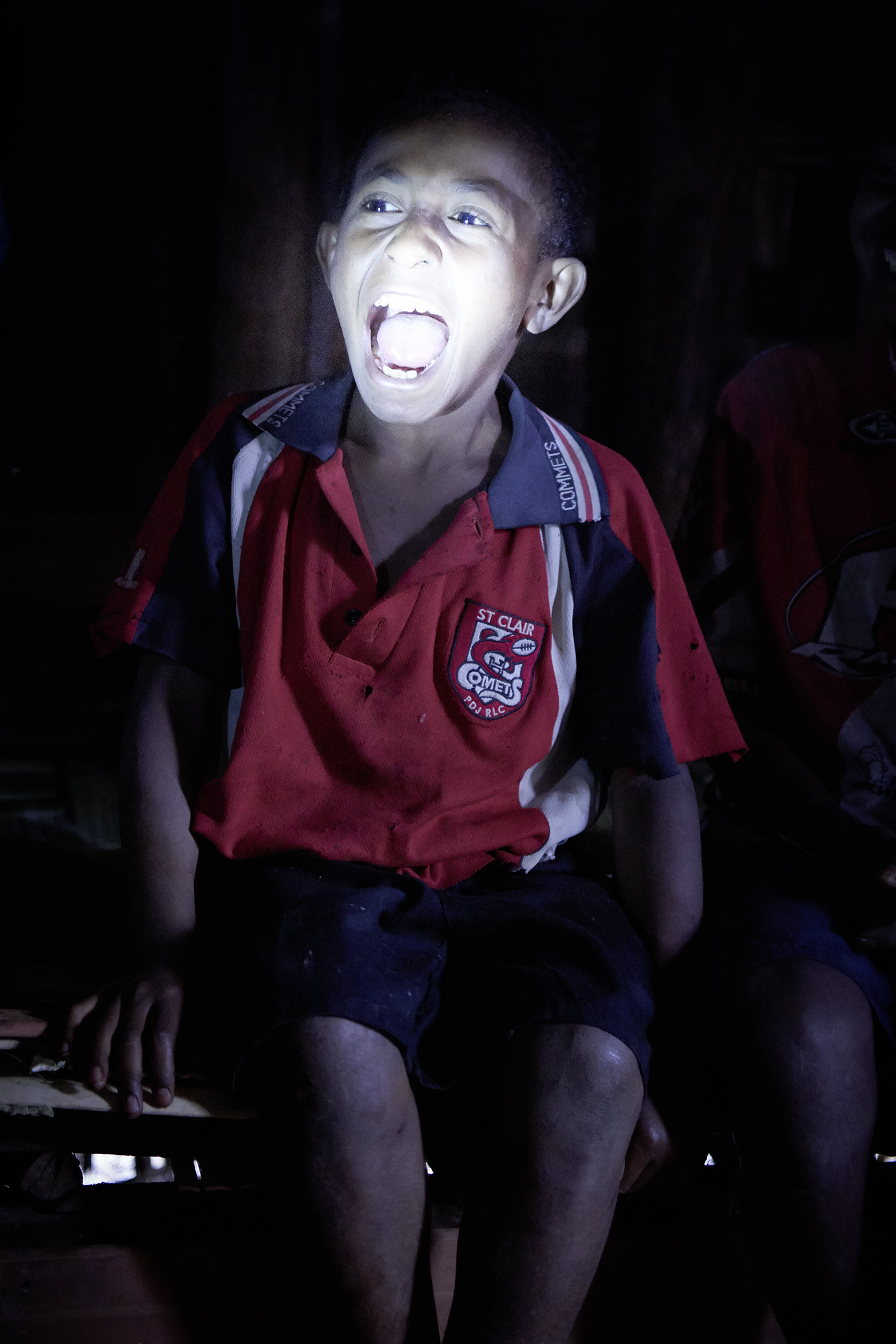At night the children are told the ghost stories. That is when they start believing in that thing.