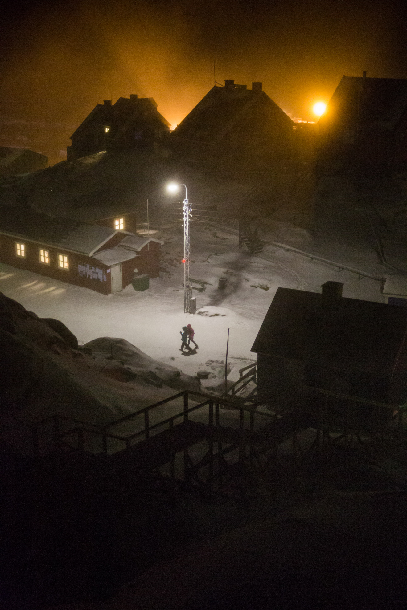 A harsh life in a harsh town: There is no cinema in Uummannaq, no shopping mall and no road outside the town.