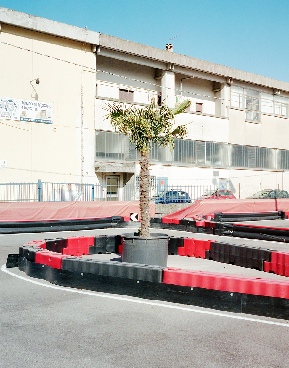 Tavernelle, 2018, ItalyA go kart track along the Padana Superiore road nearby Vicenza