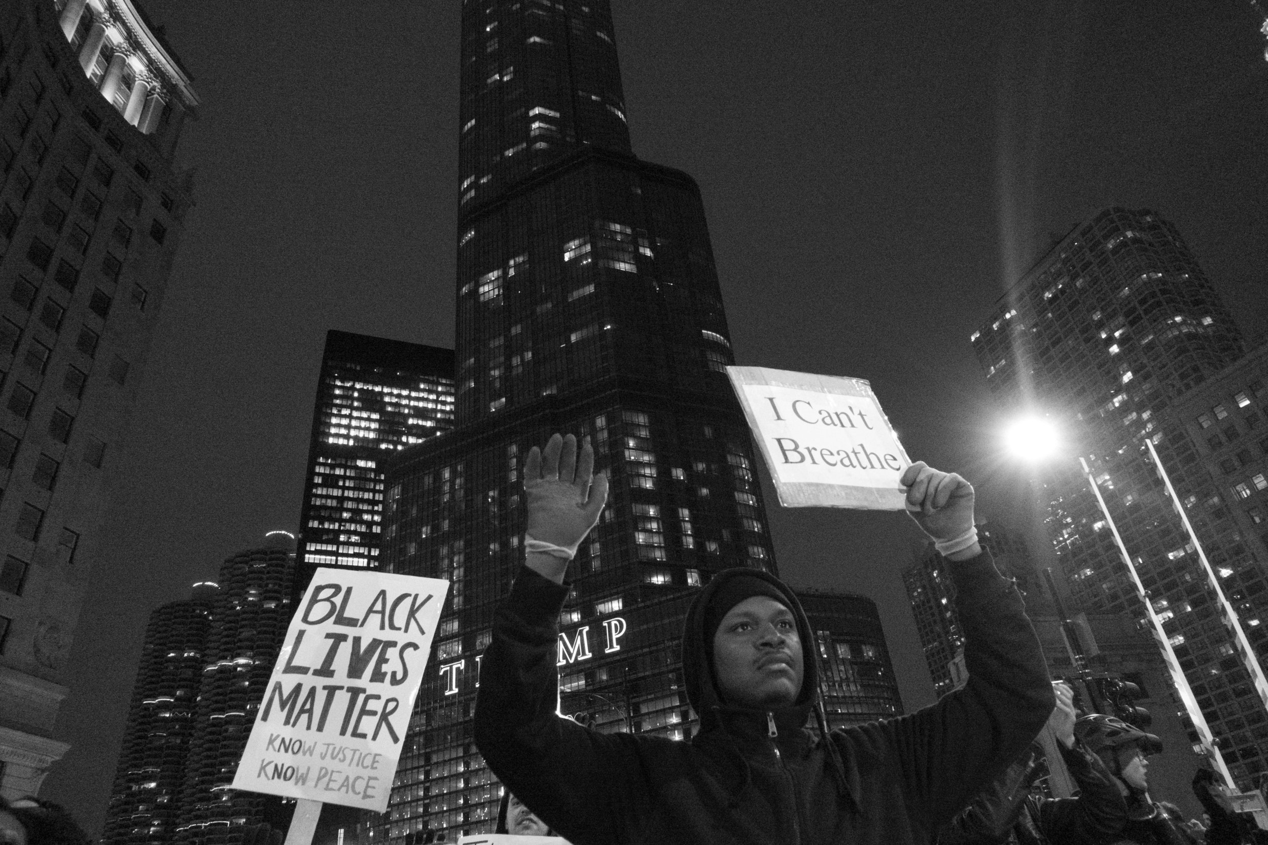 Chicago Protests New York Grand Jury in Eric Garner case