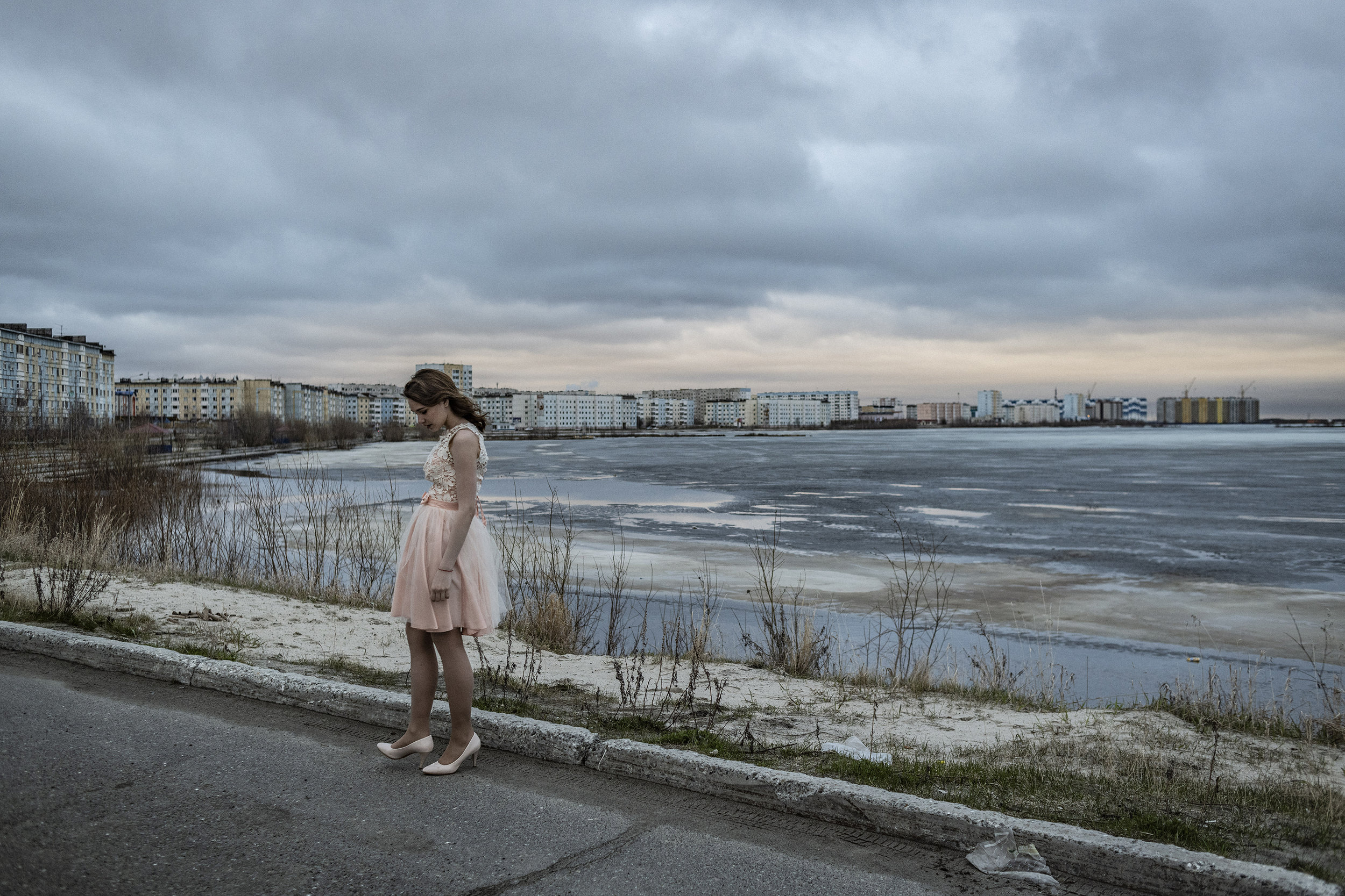 Russia, Yamal Peninsula, Nadym, June 2018