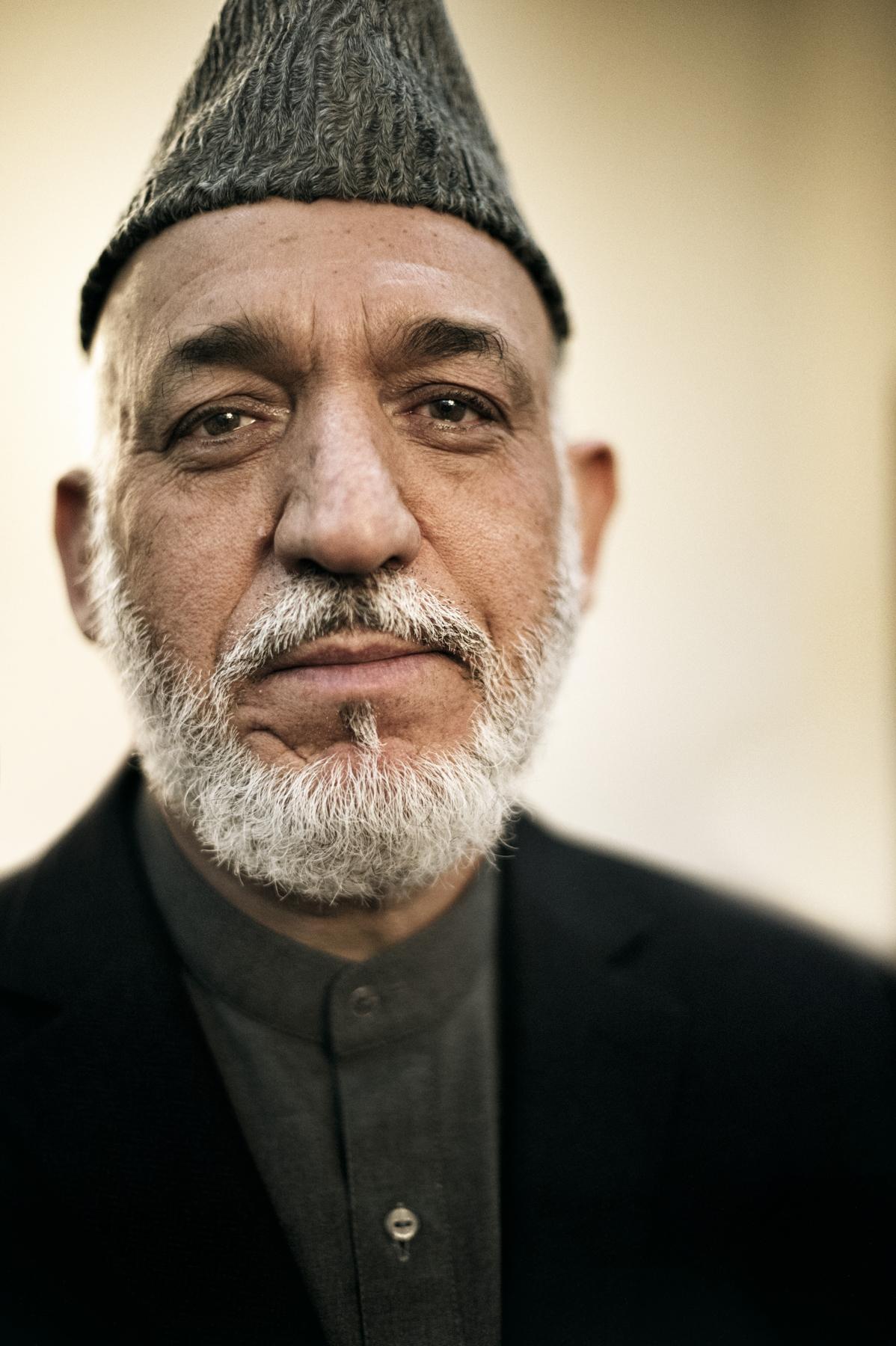 Hamid Karzai, Kabul, Afghanistan, May   2012.