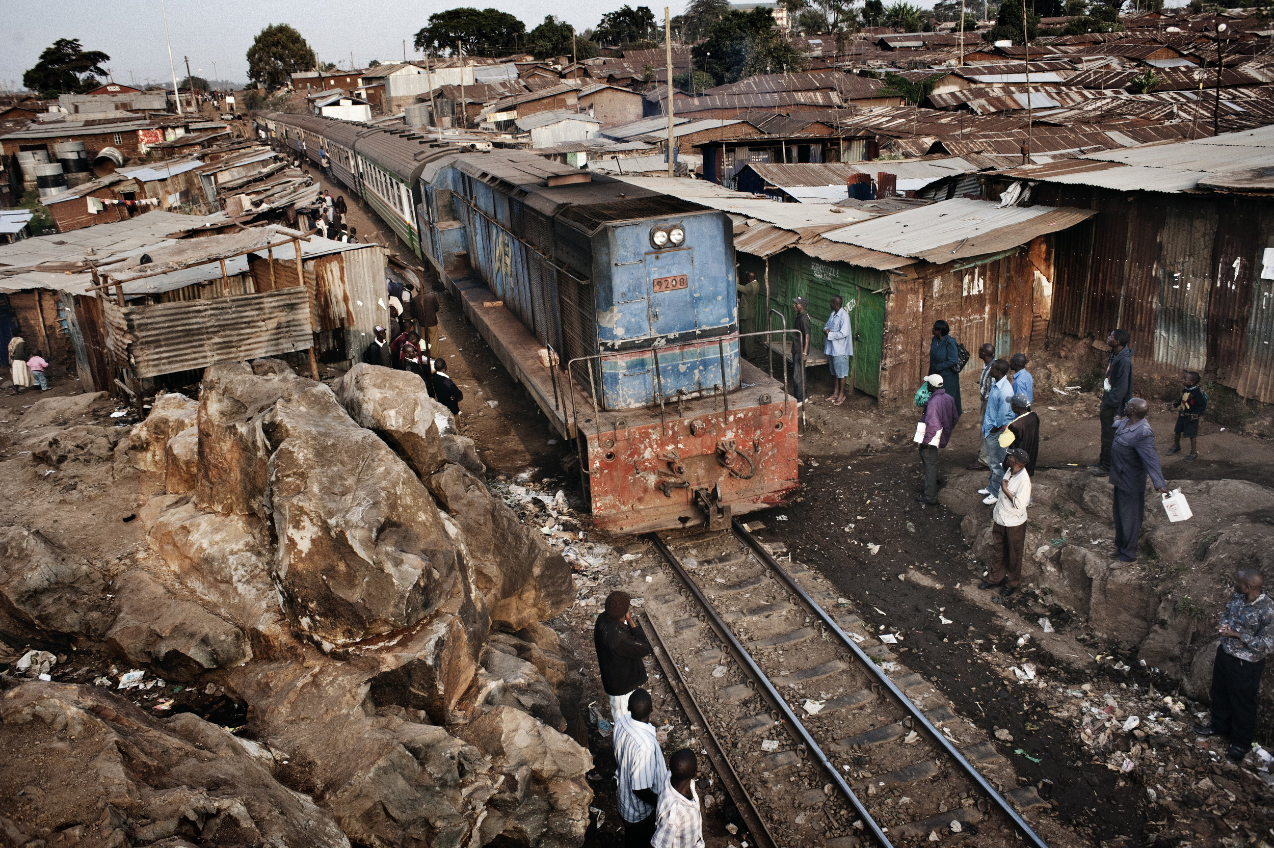 Kibera, Kenya. 6 July 2011