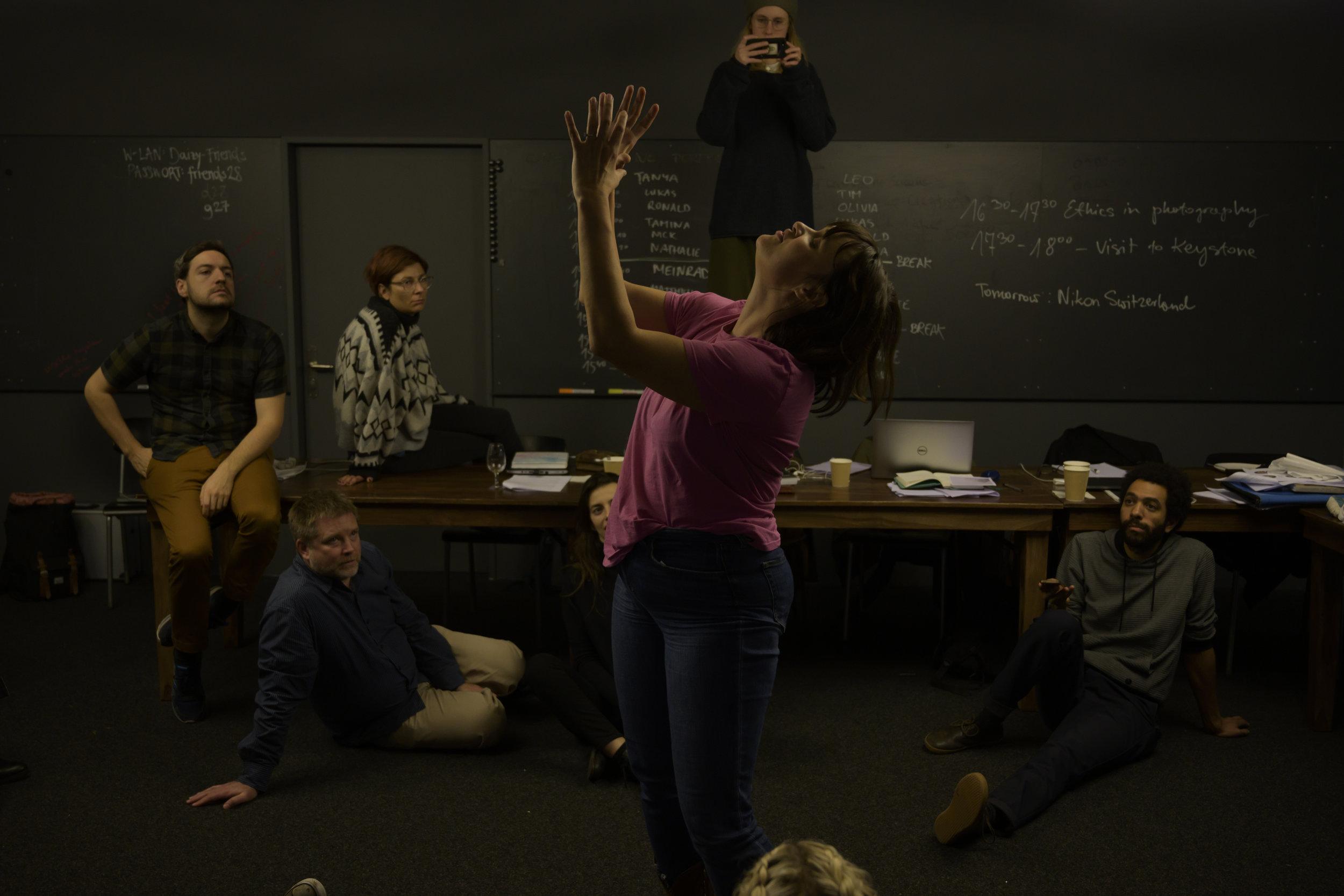 Nikon-NOOR Academy Masterclass in Zurich © Jon Lowenstein / NOOR
