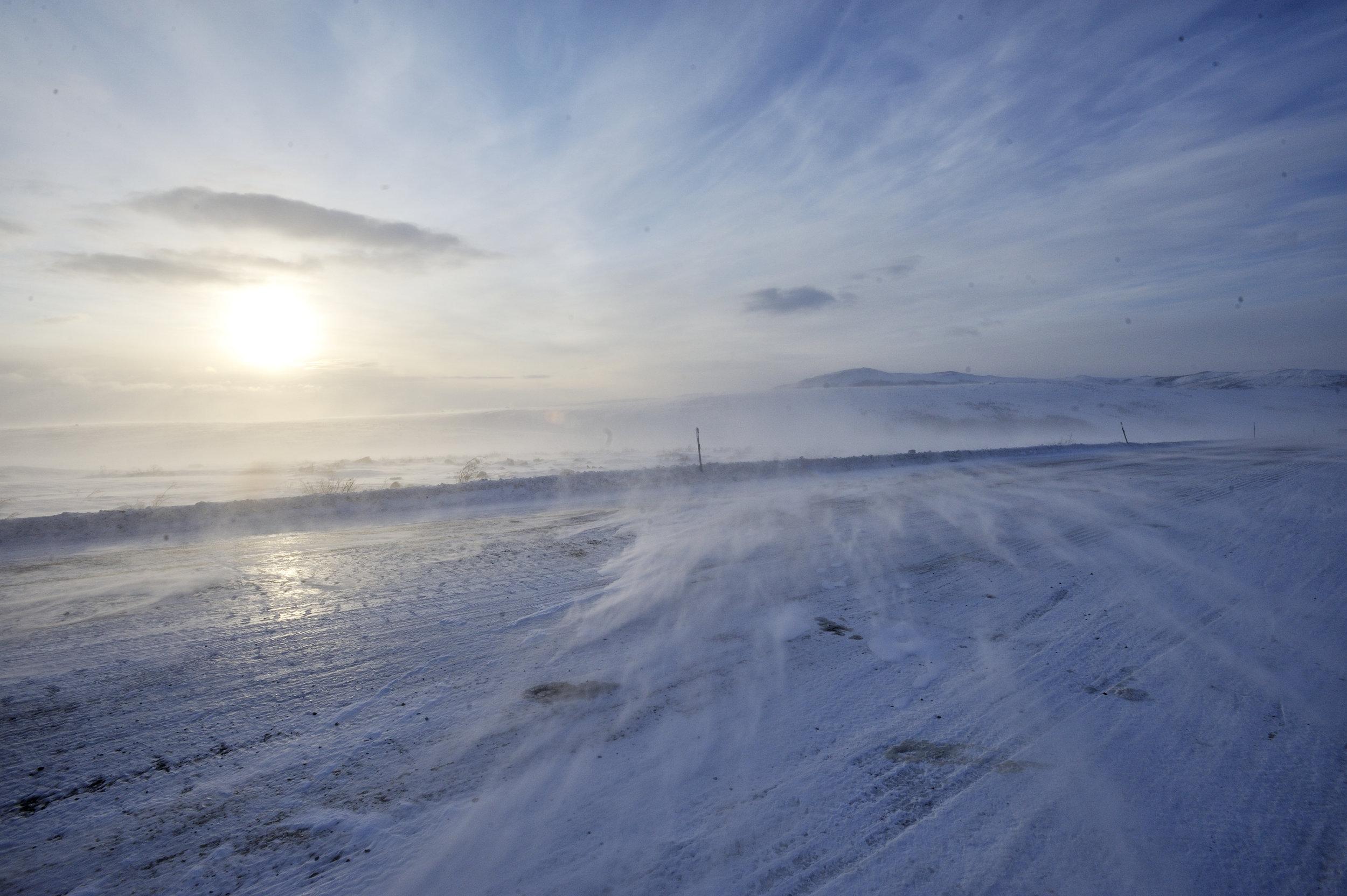 Via Panam, migration in the America's, Alaska