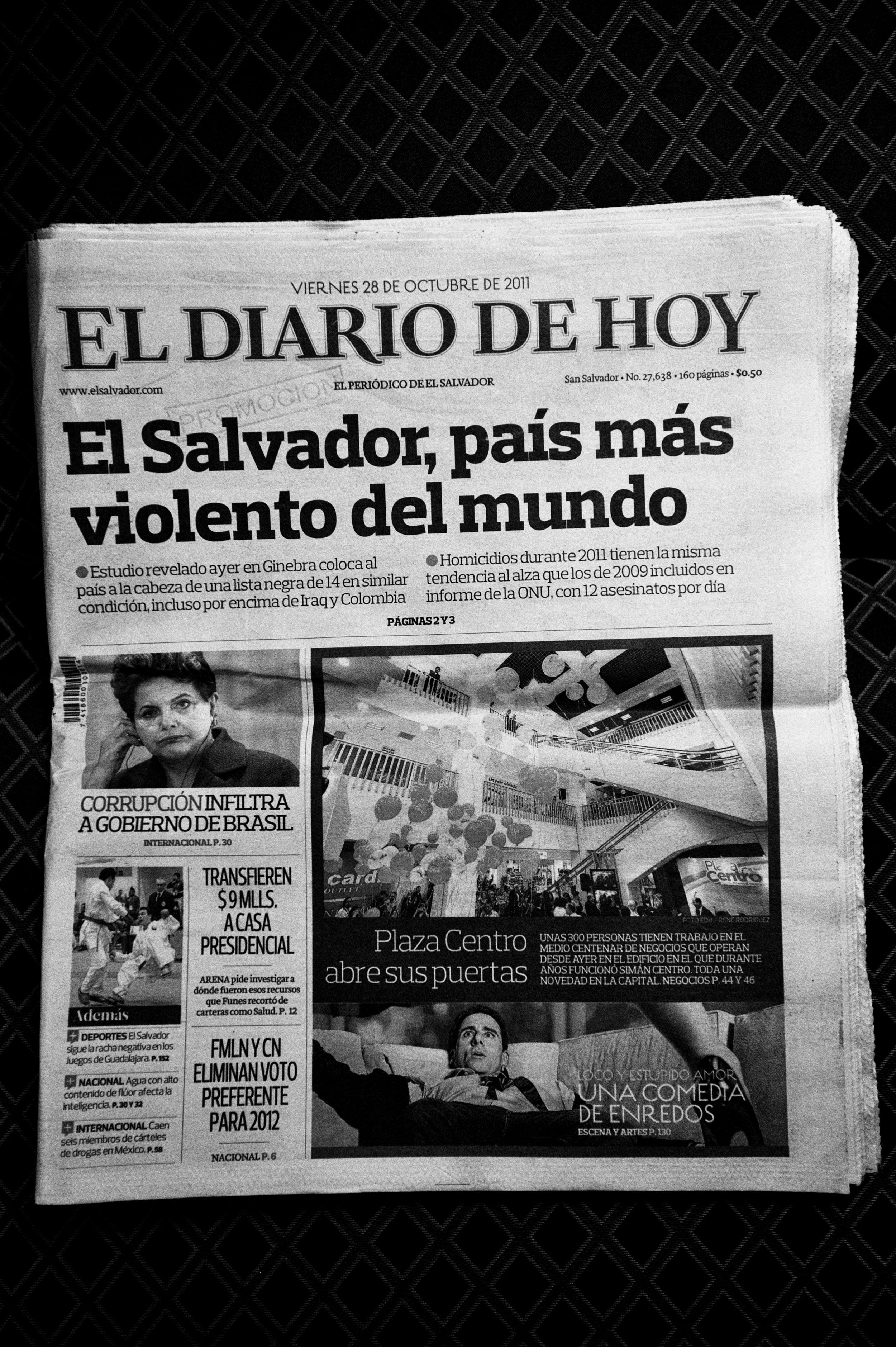 Via Panam, migration in the America's, El Salvador