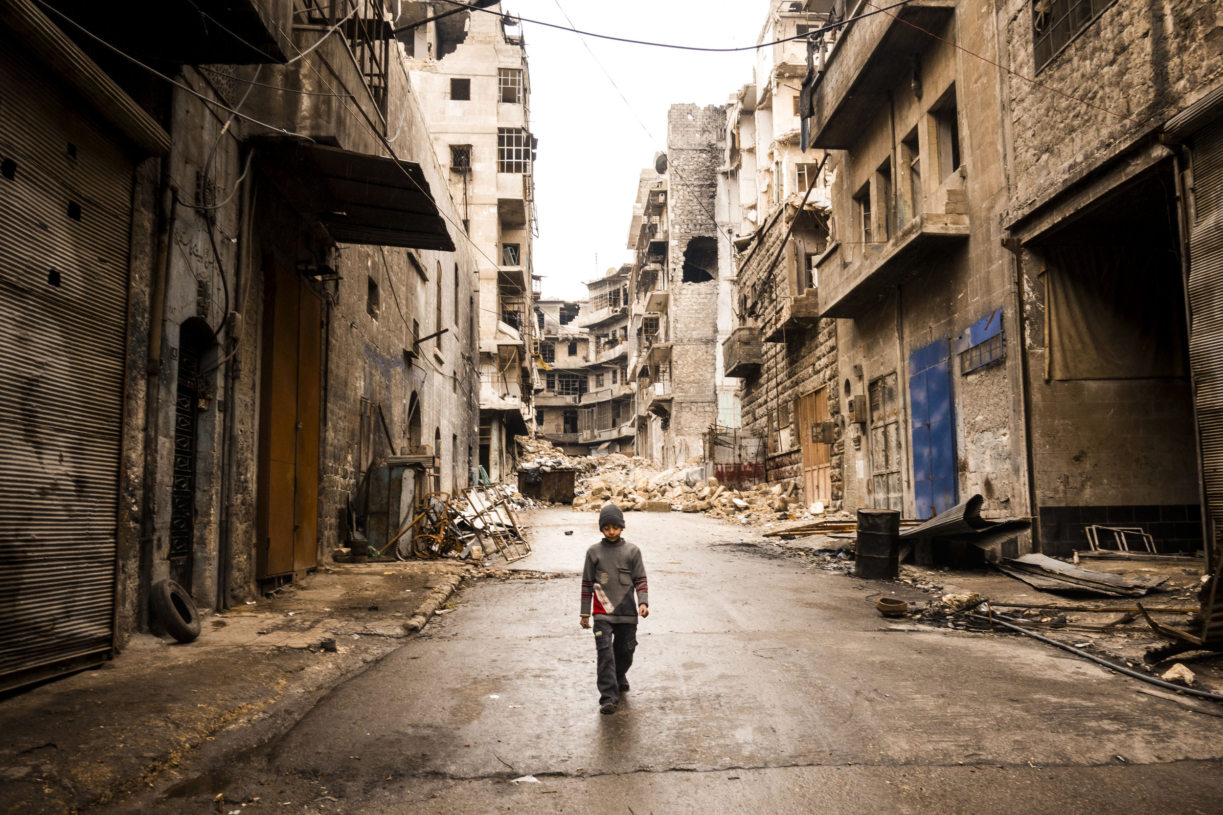 Aleppo After the Fall - By Sebastian Liste
