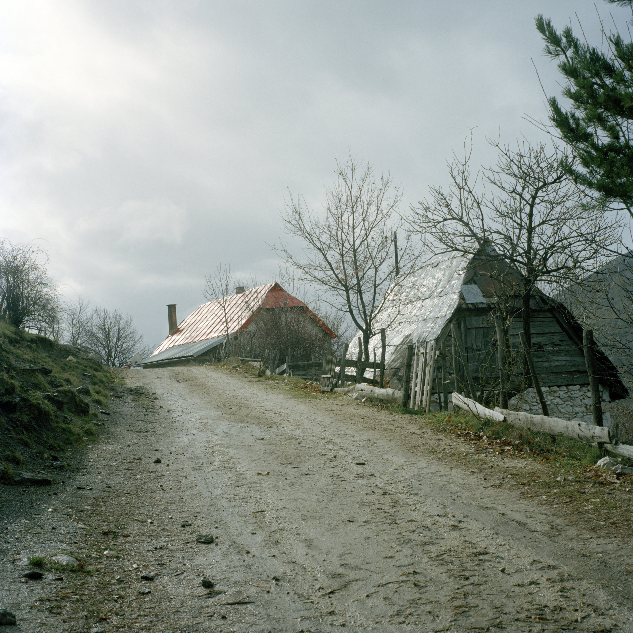 Bosnia and Herzegovina, Bozanovici, October 2010. Ratko Mladić's home village of Bozanovici, about 40 km south of Sarajevo. He was born here on March 12, 1942 as one of three kids in a family of a partisan and a housewife.
