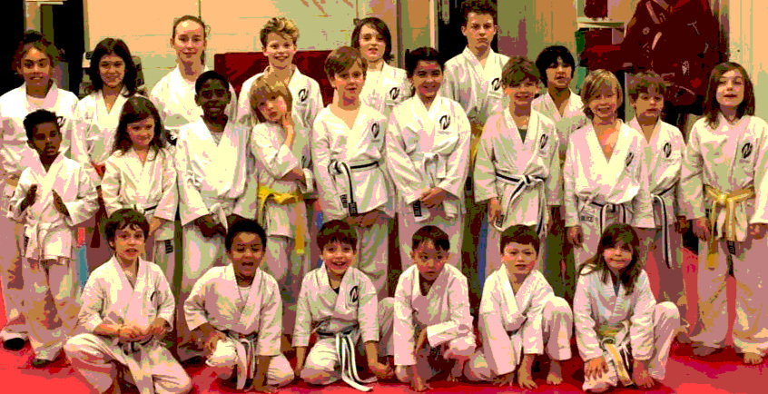 Koryukan London Kids Spring Grading
