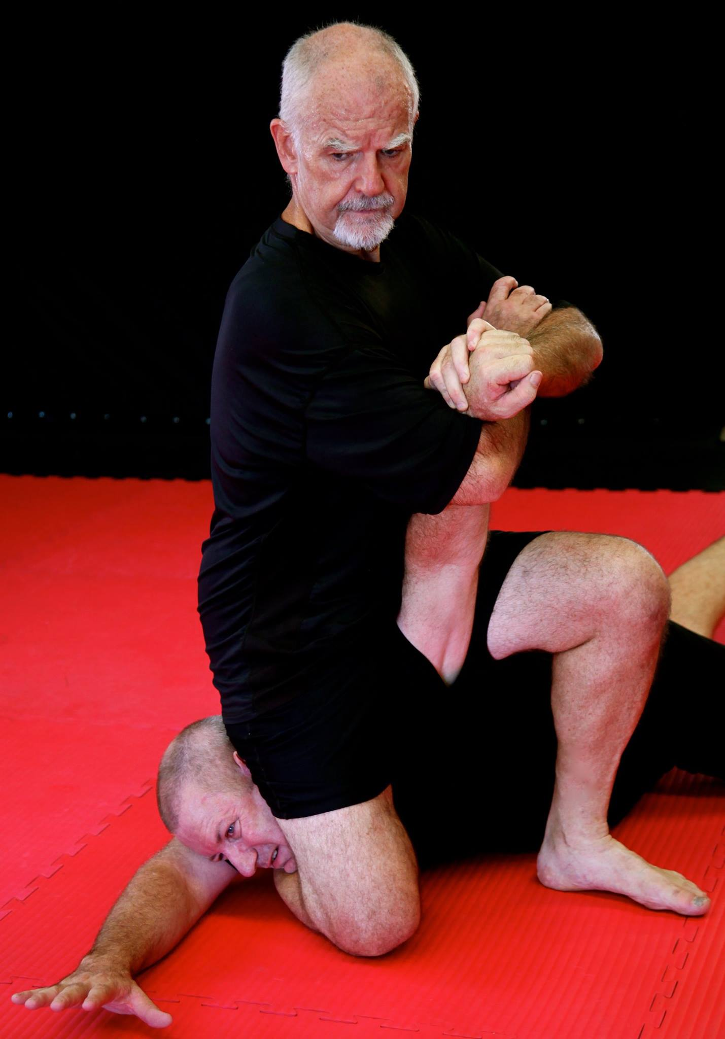 "HANSHI MCCARTHY - Hanshi Patrick McCarthy is a 5th generation master-level instructor of Uchinadi. He is Japan-accredited instructor [9th Dan/範士9段] , founder and director of the International Ryukyu Karate Research Society/琉球唐手術国際研究会 est.1989 in Japan.Hanshi McCarthy has walked in the footsteps of the masters who pioneered the modern karate tradition, following Kinjo Hiroshi, Hanashiro Chomo, Itosu Ankoh, and, Matsumura Sokon. He received his credentials directly from the Dai Nippon Butokukai, as they were bestowed upon Funakoshi Gichin, Miyagi Chojun, Mabuni Kenwa, Ohtsuka Hironori, Konishi Yasuhiro, Sakagami Ryusho, and Nagamine Shoshin.In the 80's Hanshi McCarthy relocated to Japan, and became widely recognized for his field studies and historical-based writings. His groundbreaking research, several books, includes the best-selling publication ""The Bubishi"".In 1995 Hanshi McCarthy was recruited by the Australian government to established the world's first University-level undergraduate Diploma of Martial Arts Instruction program.Today, when not overseeing the day-to-day activities of the IRKRS, Hanshi McCarthy spends much of his time travelling the world and teaching seminars, along with teaching instructor's classes at the Koryukan Honbu Dojo(headquarters) in Brisbane, Australia"