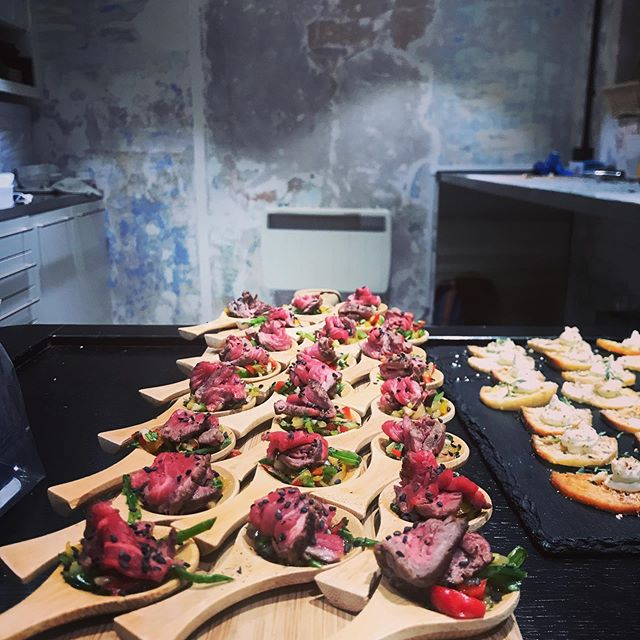 Great event @dn_brixton #canapes #catering #brixton #london #lambeth