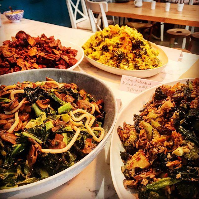 Delicious Kaboola Salads today!  #britishseasonalfood #brixton #london #kaboola #healthy #deli