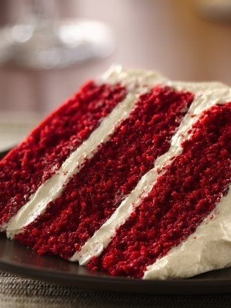 original red velvet - Always Looking Out For A Light Fluffy Textured Cake? This Cocoa Flavored Red Sponge Paired With A Whipped Cream Cheese Filling Is For You !