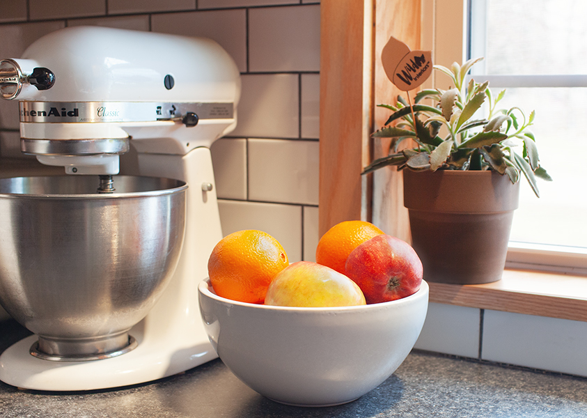 That's no fruit bowl… it's a plant pot!