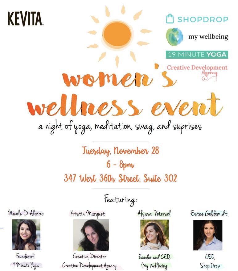 Women's Wellness Event