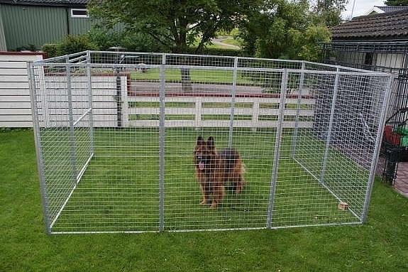 Priser på hundegårder med tilbehør -