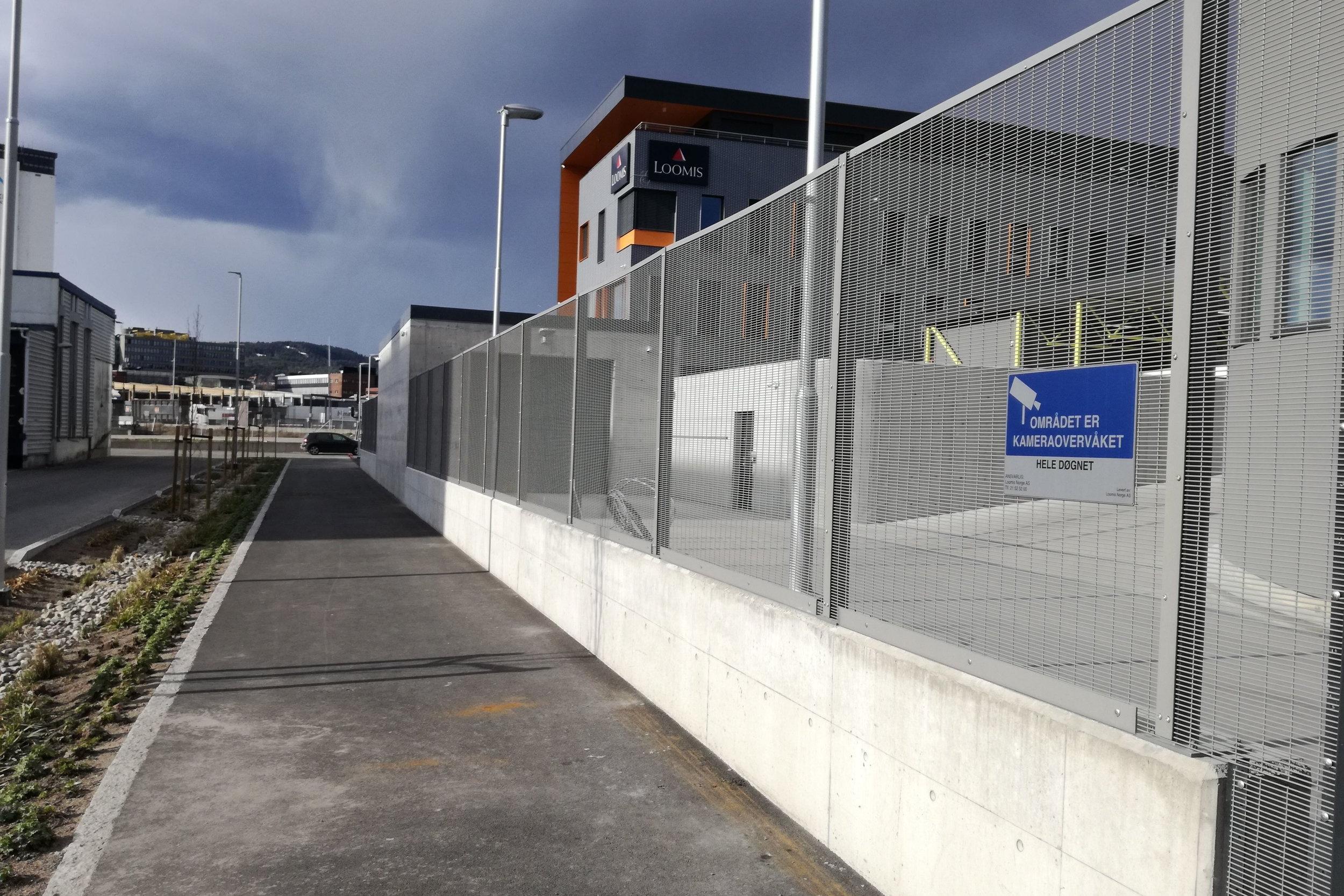 Securifor gjerde til A-Bygg i Oslo - Levering og montering av Securifor høysikkerhetsgjerde på Alnabru for A-Bygg