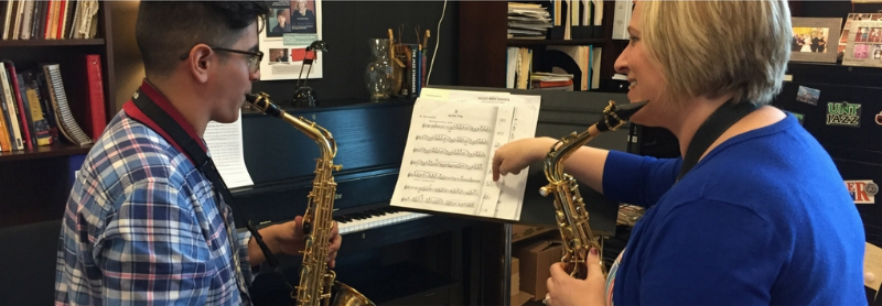 Private lessons - Classical, Jazz, and all points in between!