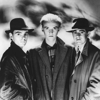Heaven 17, Martyn Ware on the right