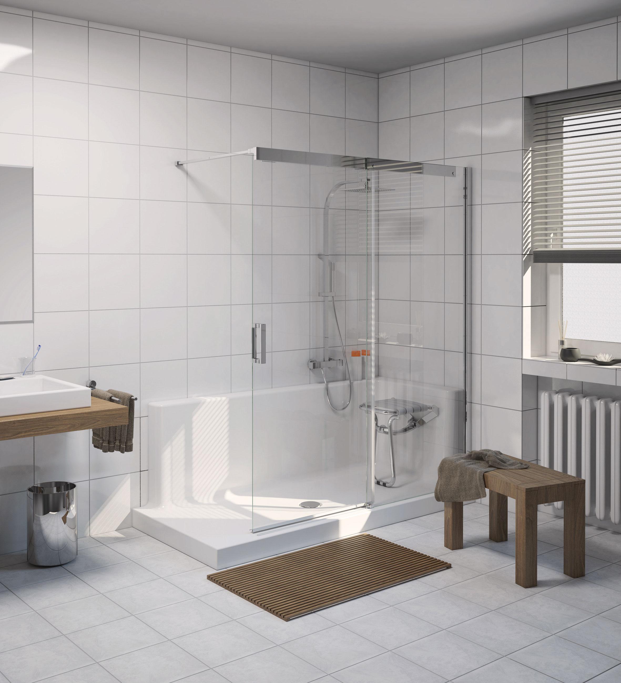 Stiehle Barrierefreie & Bodenebene Dusche