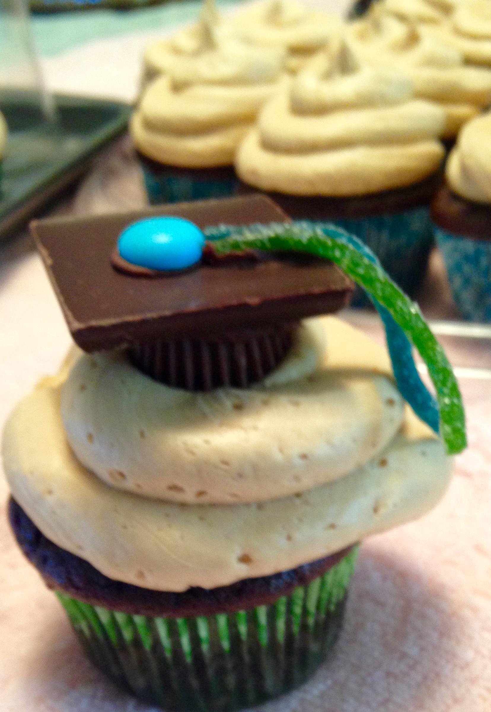 Gluten-Free Graduation Cupcakes