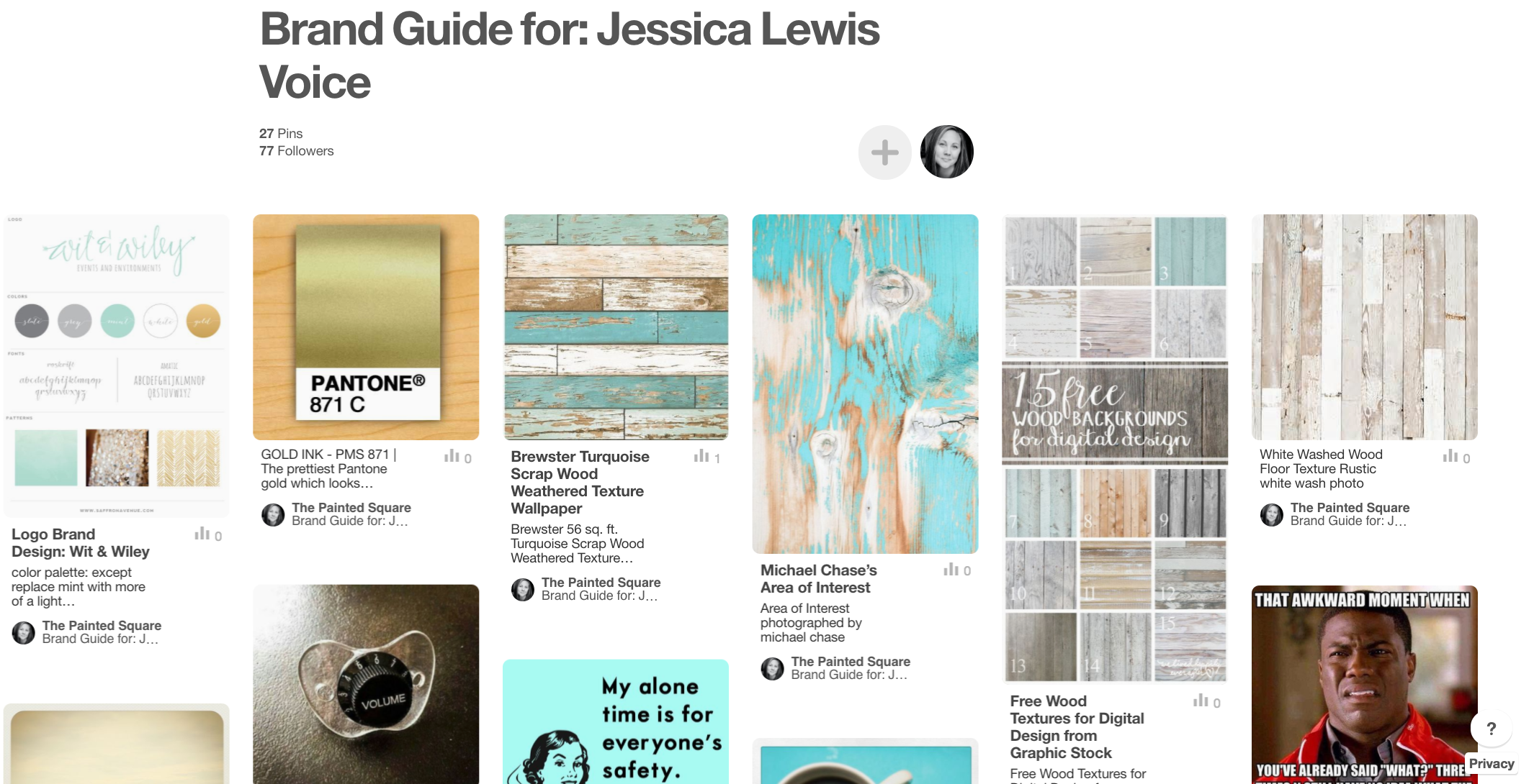 Brand Guide for Jessica Lewis Voice