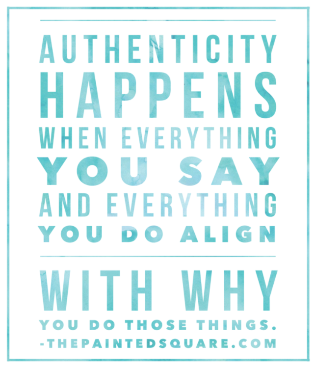 Authenticity Builds Trust