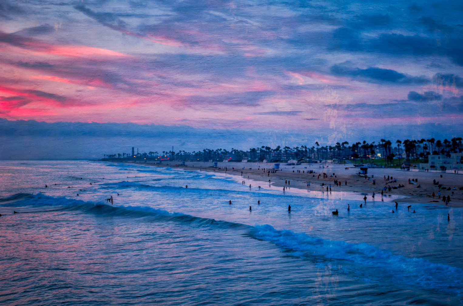 Huntington Beach, California - August 2018