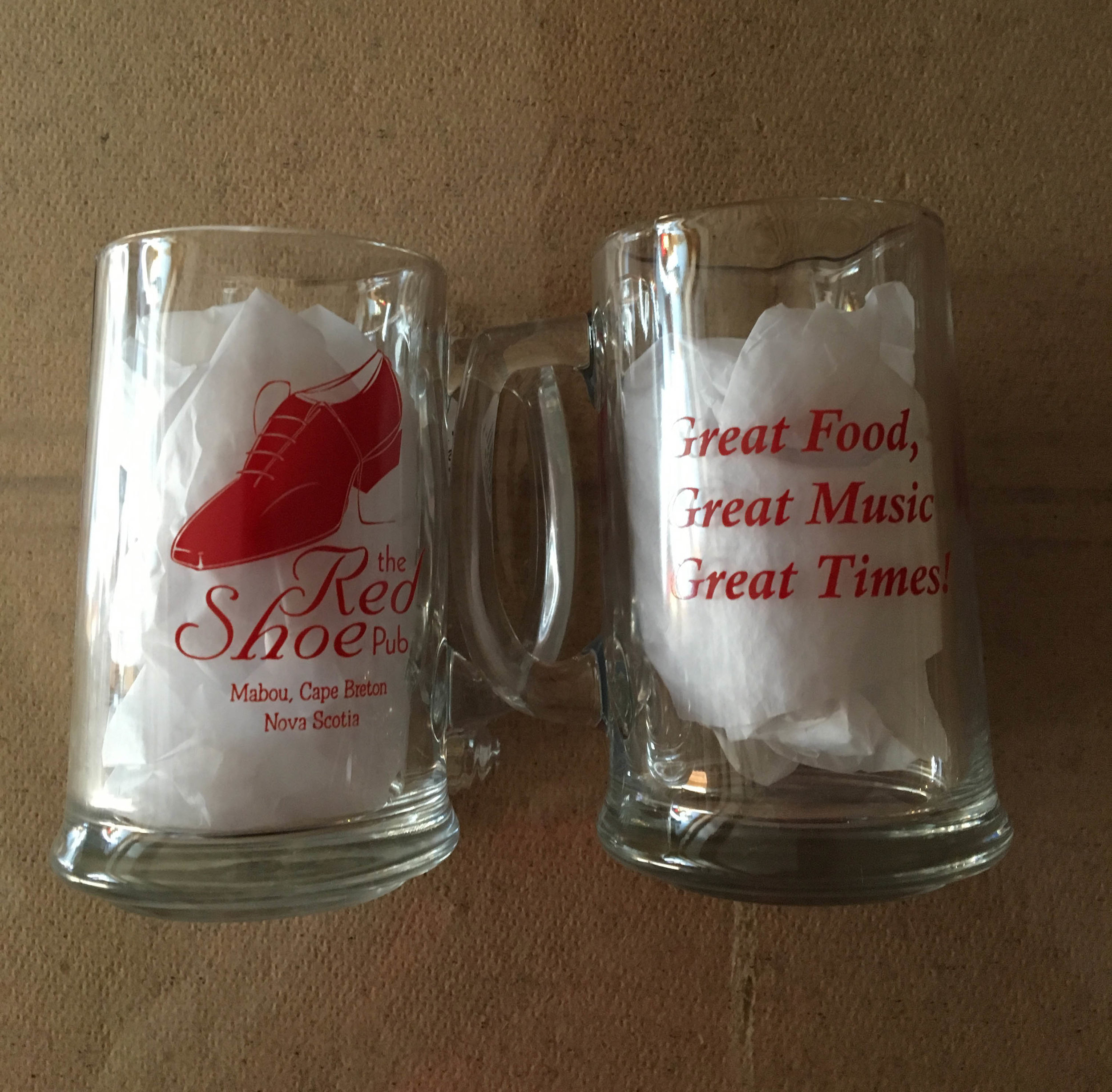 BEER MUG $6.95+tax BEER MUG Served with in-tap beer $11.30+tax -