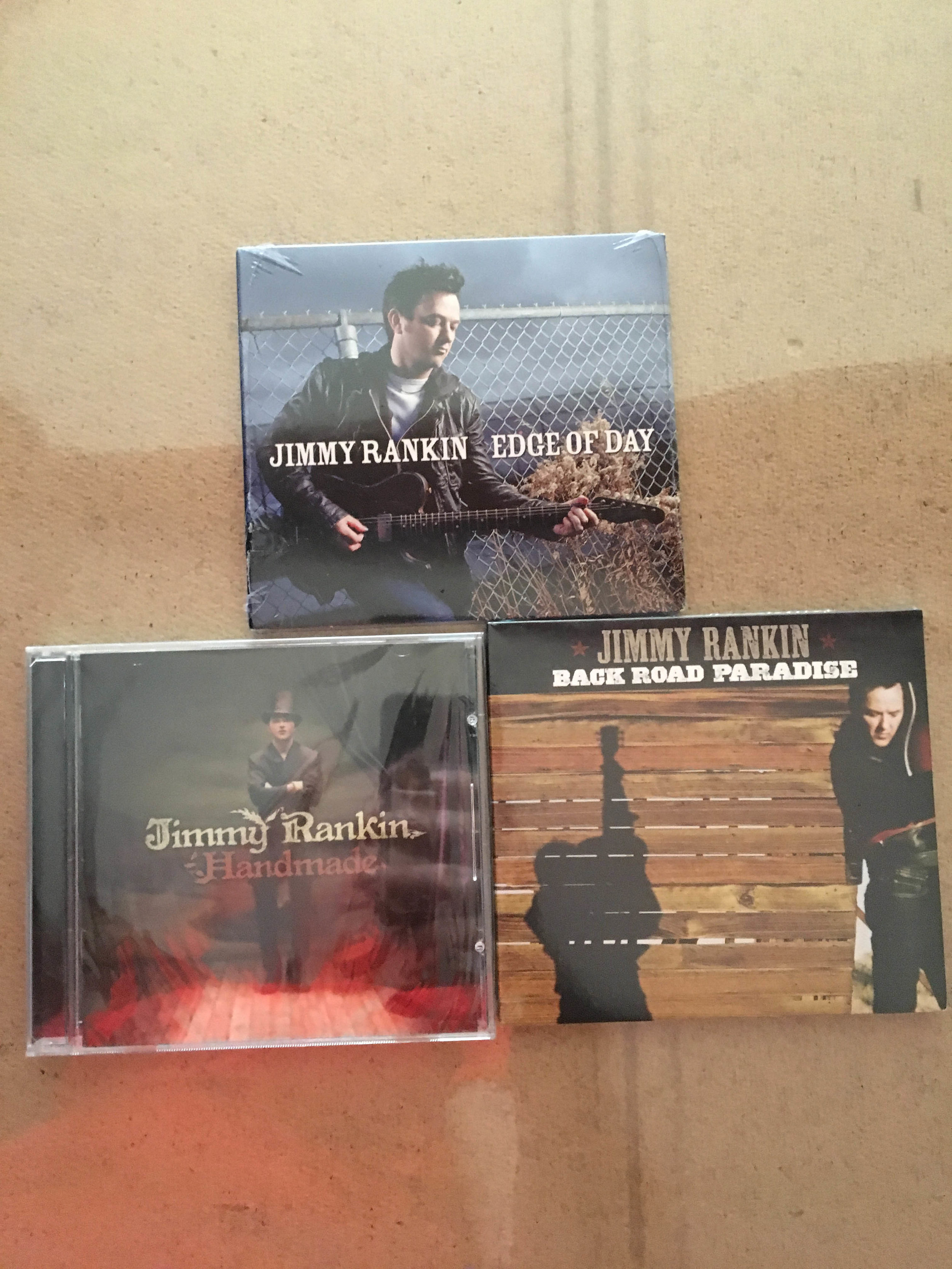 Jimmy Rankin CDs $20+tax -