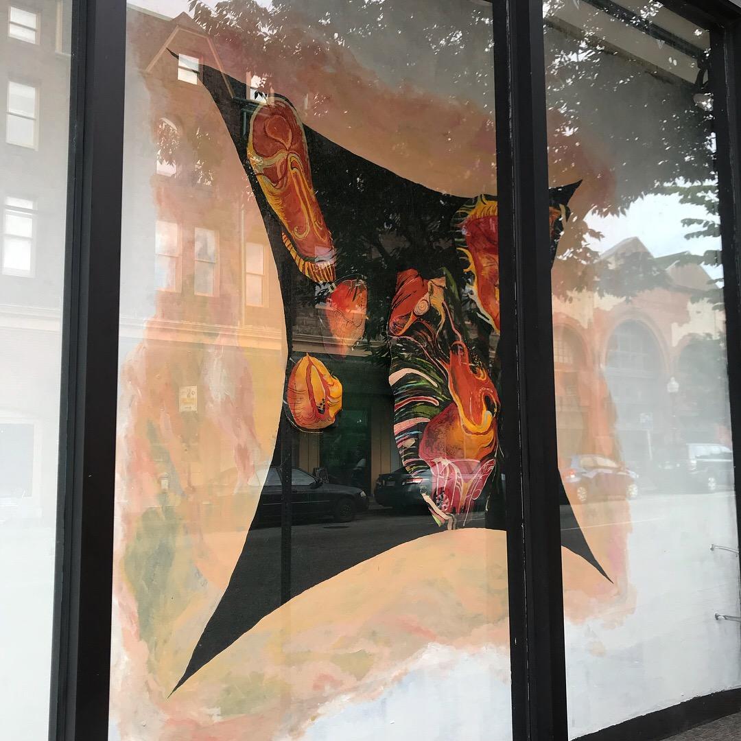 Metro Gallery Window Display