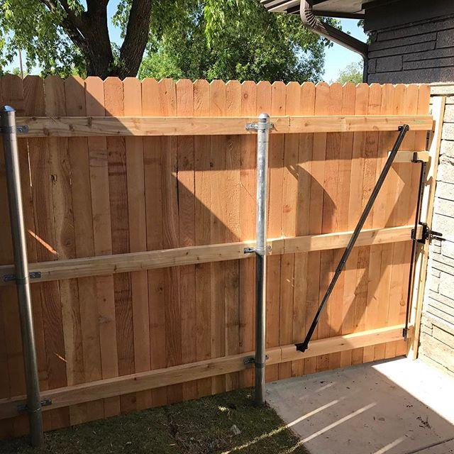 #thegatebrace #okc #gates #gate #fence #gatebrace