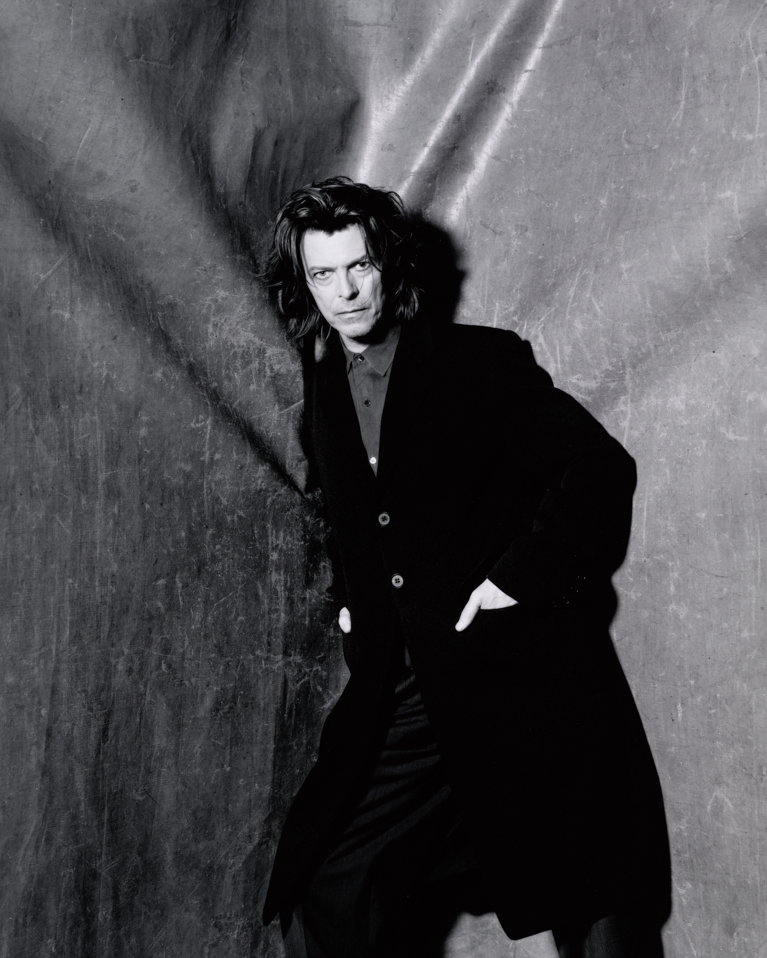 David Bowie (D) , New York, 1999 Gelatin silver print © The Irving Penn Foundation