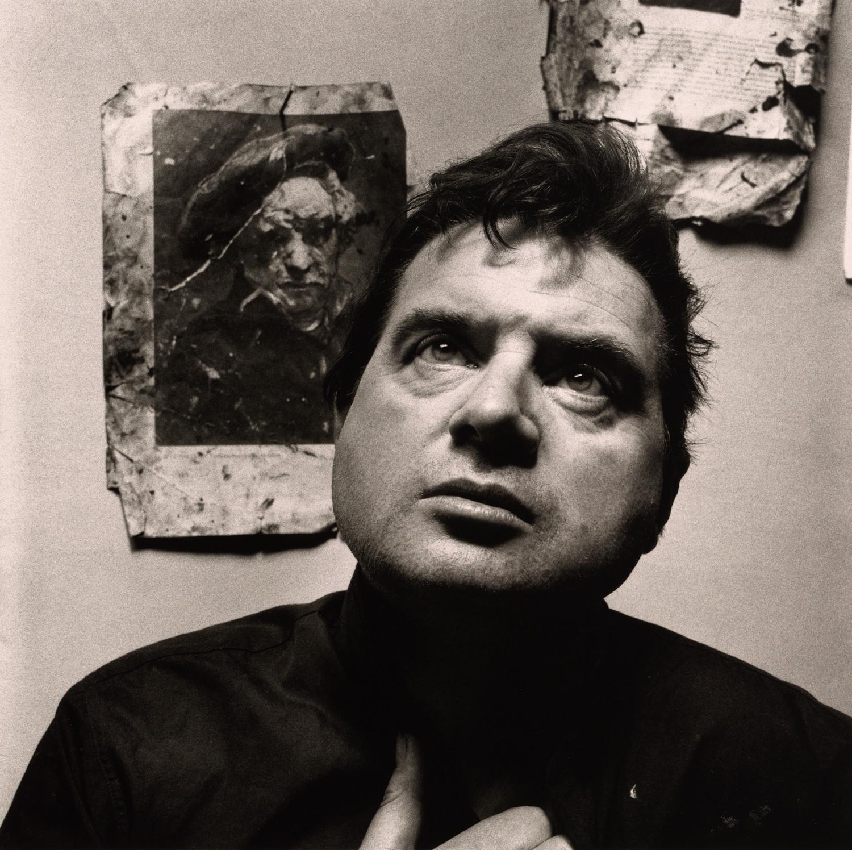 Francis Bacon (1 of 2) , London, 1962 Platinum-palladium print © Condé Nast