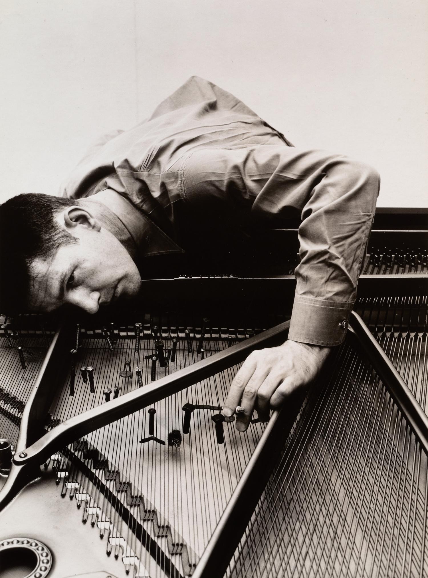 John Cage (A) , New York, 1946 Gelatin silver print © Condé Nast