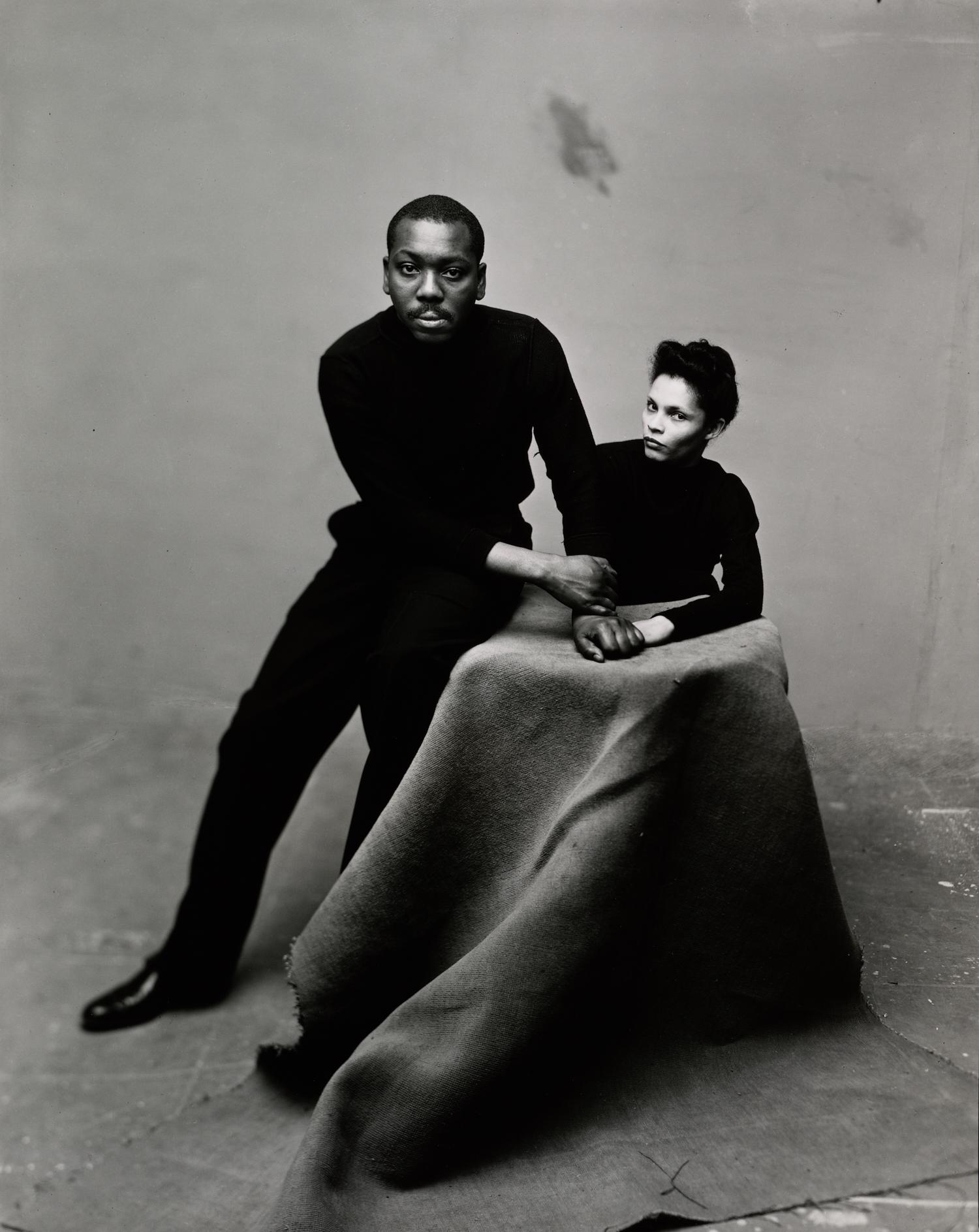 Mr. and Mrs. Jacob Lawrence , New York, 1947 Gelatin silver print © Condé Nast