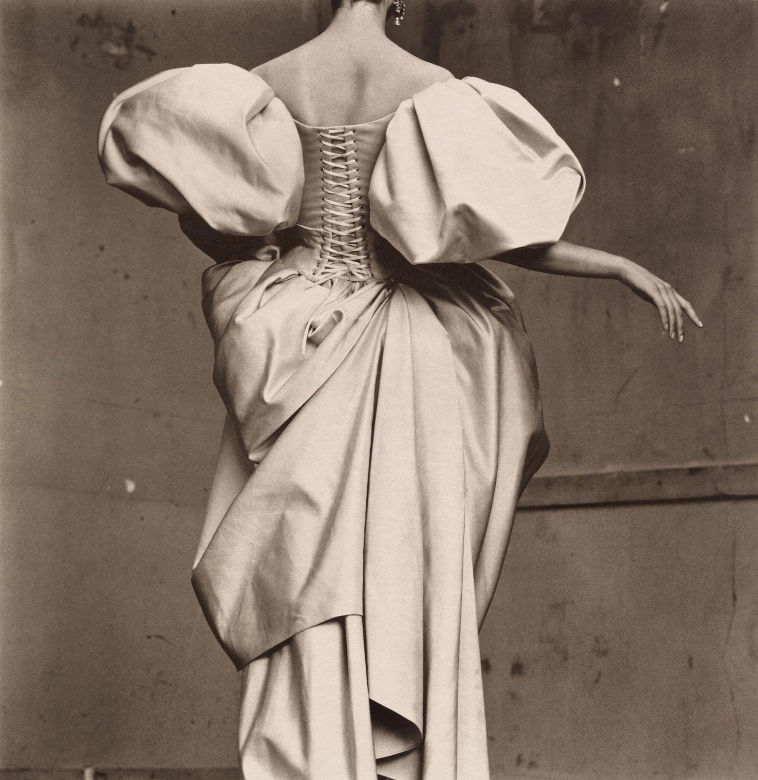 Christian Lacroix Duchesse Satin Dress , Paris, 1995 Platinum-palladium print © Condé Nast
