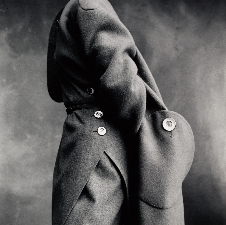 Molyneux Pocket Detail , Paris, 1950 Gelatin silver print © The Irving Penn Foundation