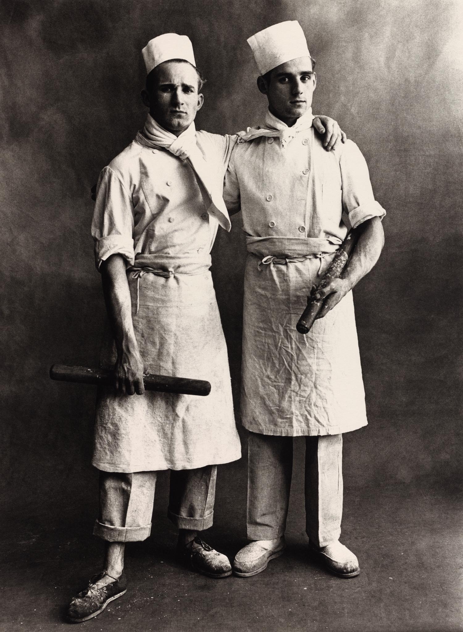 Pâtissiers , Paris, 1950 [Pastry Chefs] Gelatin silver print © Condé Nast (Fr.)