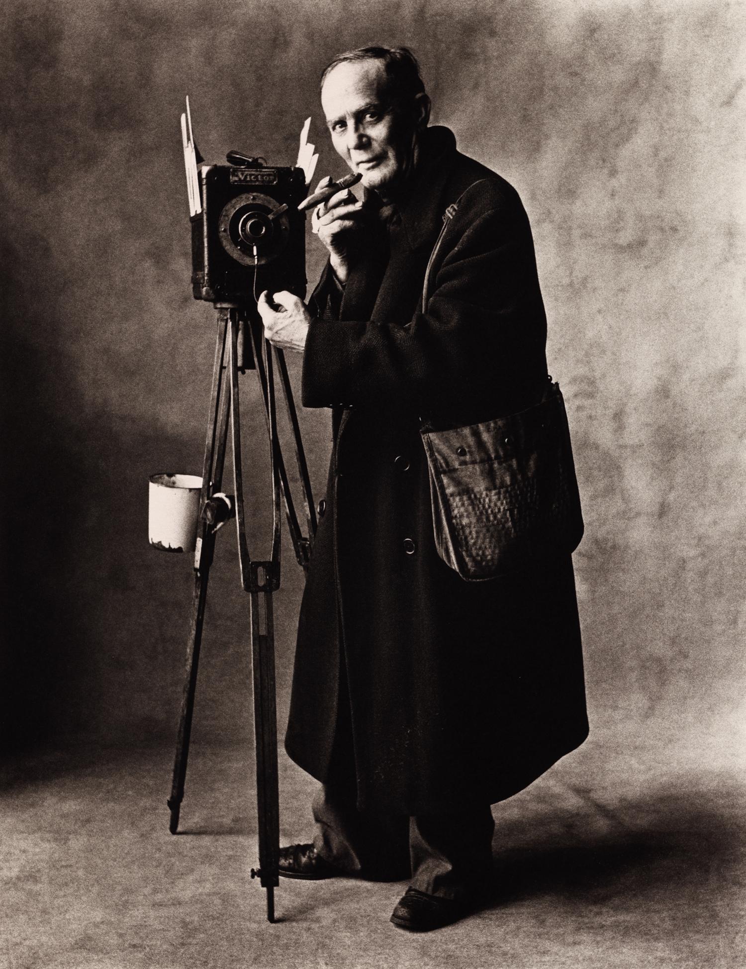 Street Photographer (A) , New York, 1951 Platinum-palladium print © Condé Nast