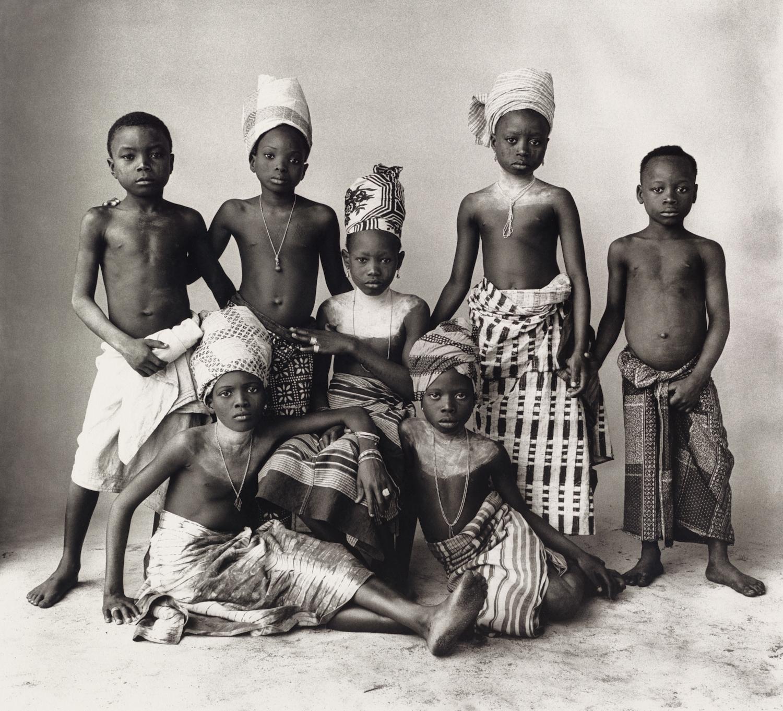 Dahomey Children , 1967 Platinum-palladium print © The Irving Penn Foundation