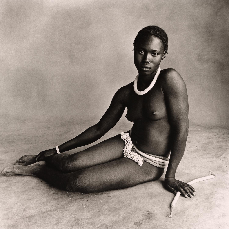 Nubile Young Beauty of Diamaré , Cameroon, 1969 Platinum-palladium print © The Irving Penn Foundation