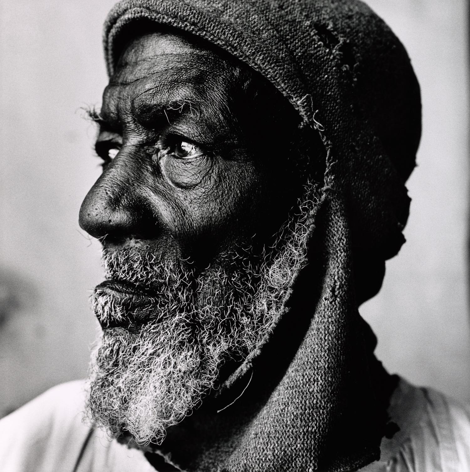 Old Dahomey Man (A) , 1967 Gelatin silver print © The Irving Penn Foundation