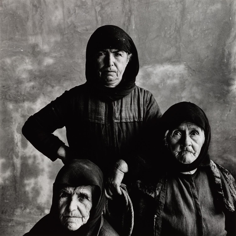Three Cretan Women with Rope ,1964 Gelatin silver print © Condé Nast