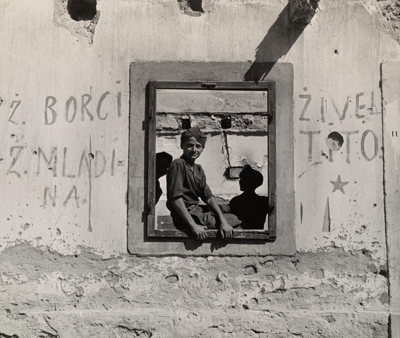 Young Boys , Yugoslavia, 1945 Gelatin silver print © The Irving Penn Foundation