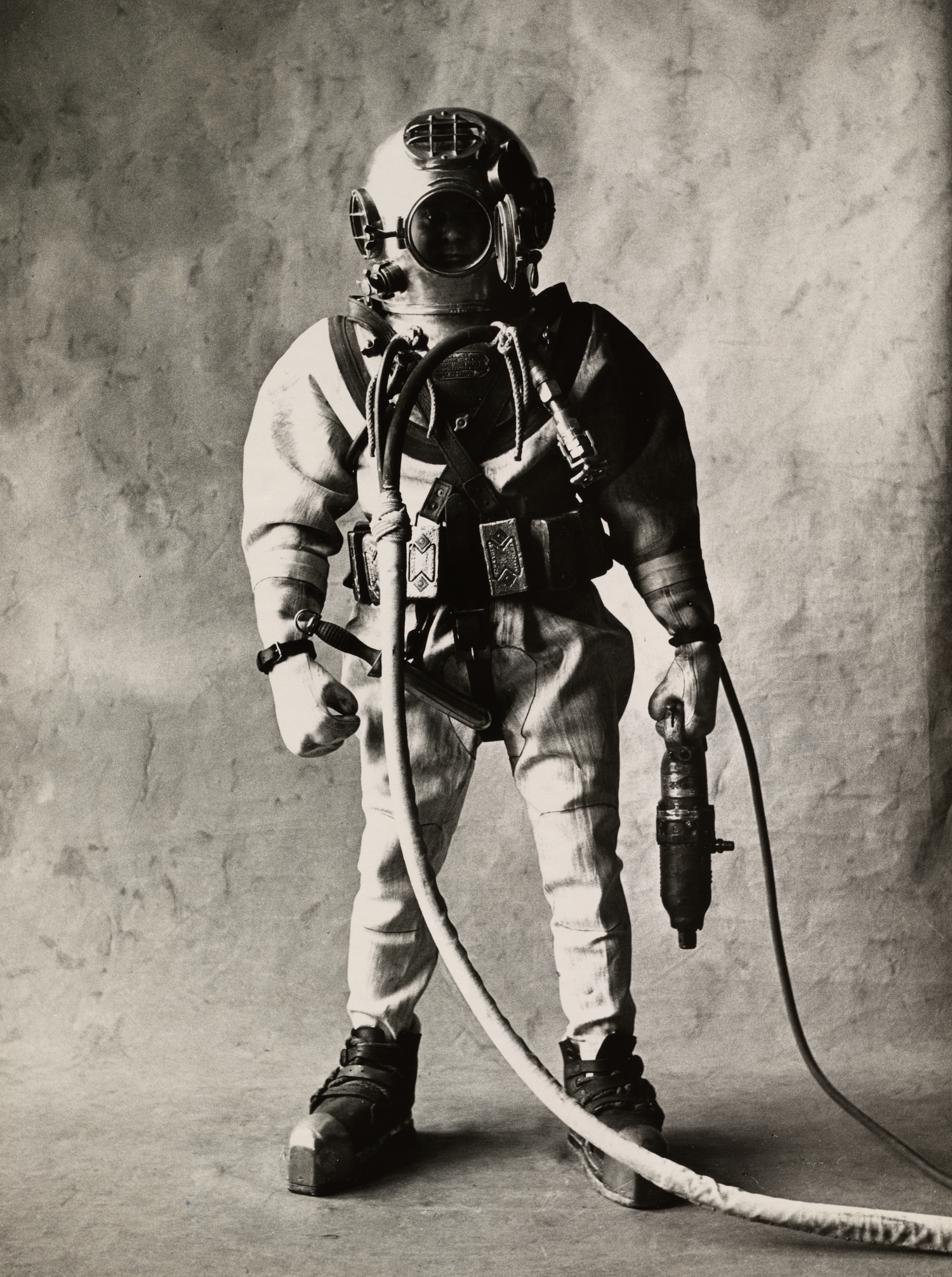 Deep-Sea Diver (A) , New York, 1951 Gelatin silver print © The Irving Penn Foundation