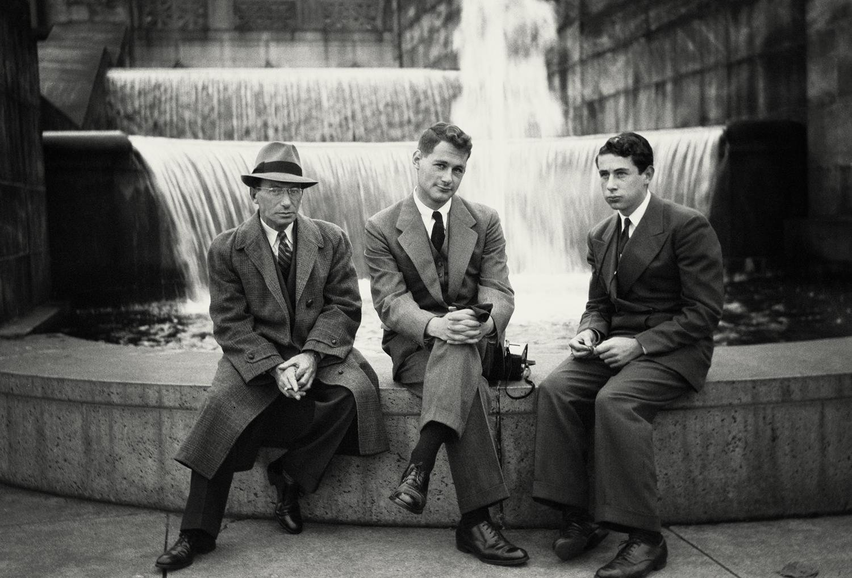 Nonny Gardner,  Harry, Irving, and Arthur Penn , Philadelphia, ca. 1938. Courtesy the Nonny Gardner Cangelosi Family Collection