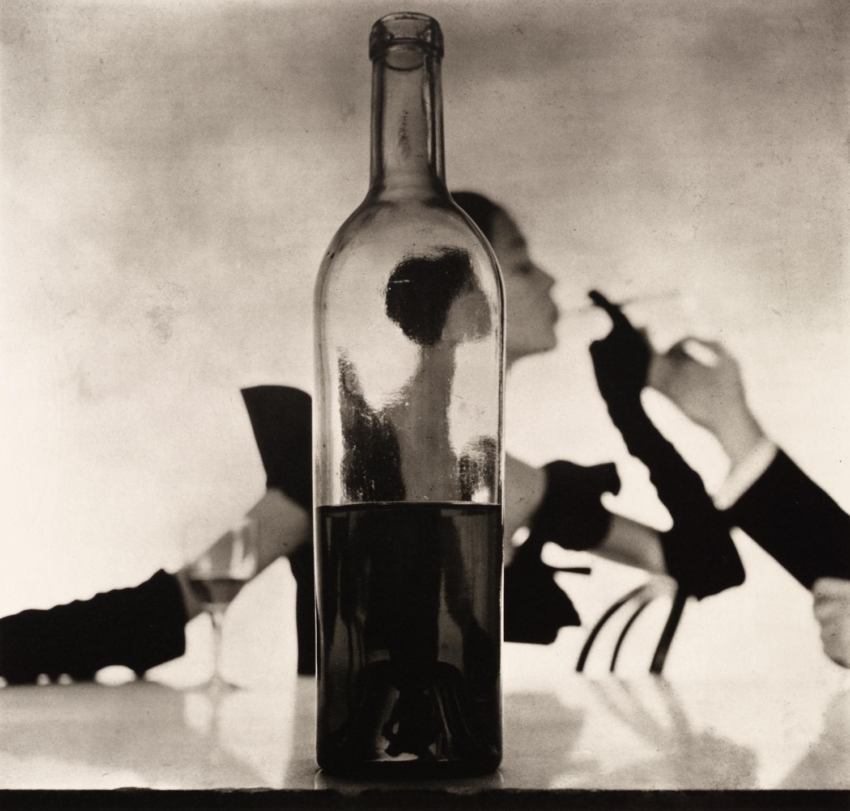 Man Lighting Girl's Cigarette (Jean Patchett) , New York, 1949 Platinum-palladium print © The Irving Penn Foundation