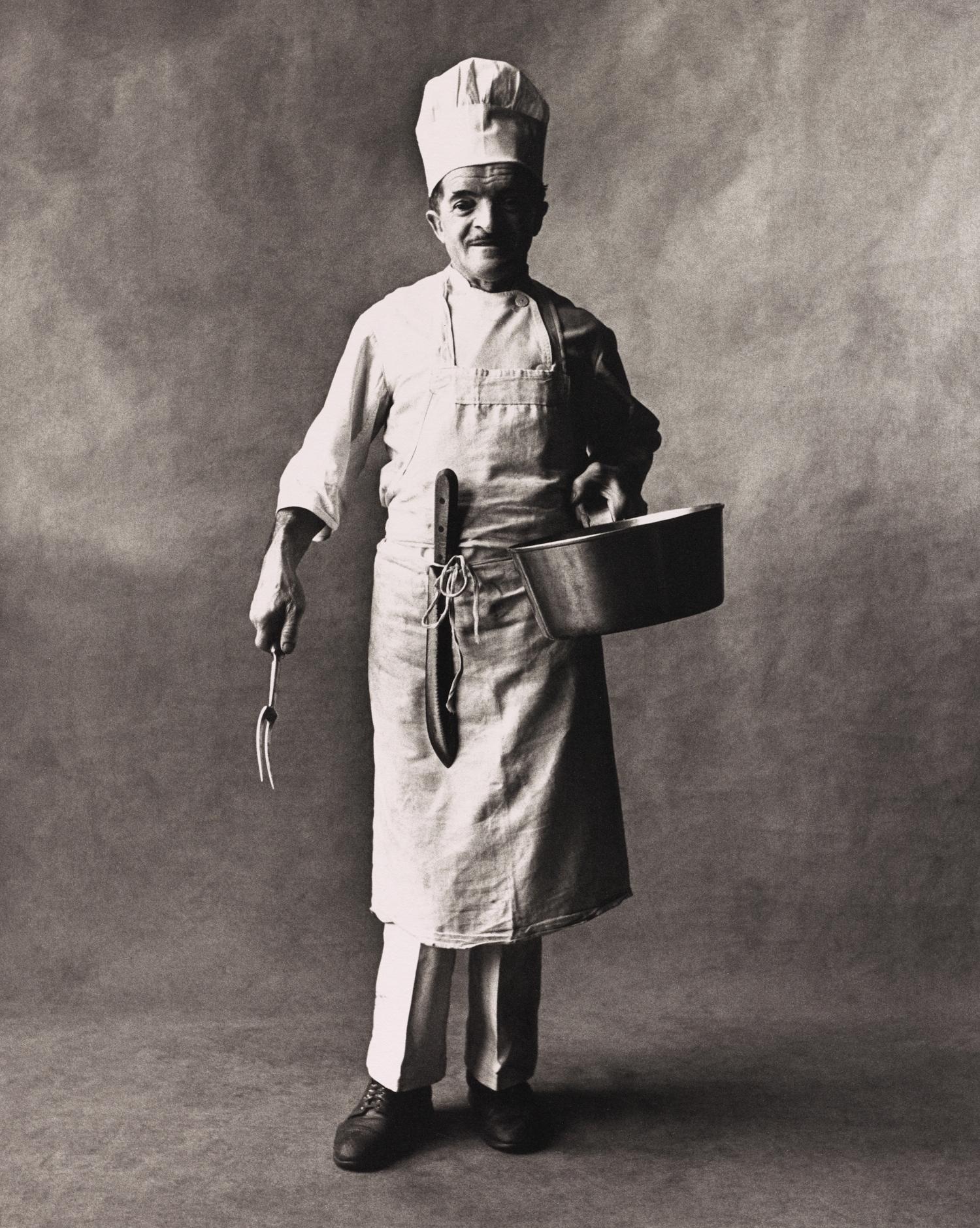 Chef (A) , New York, 1951 Platinum-palladium print © Condé Nast