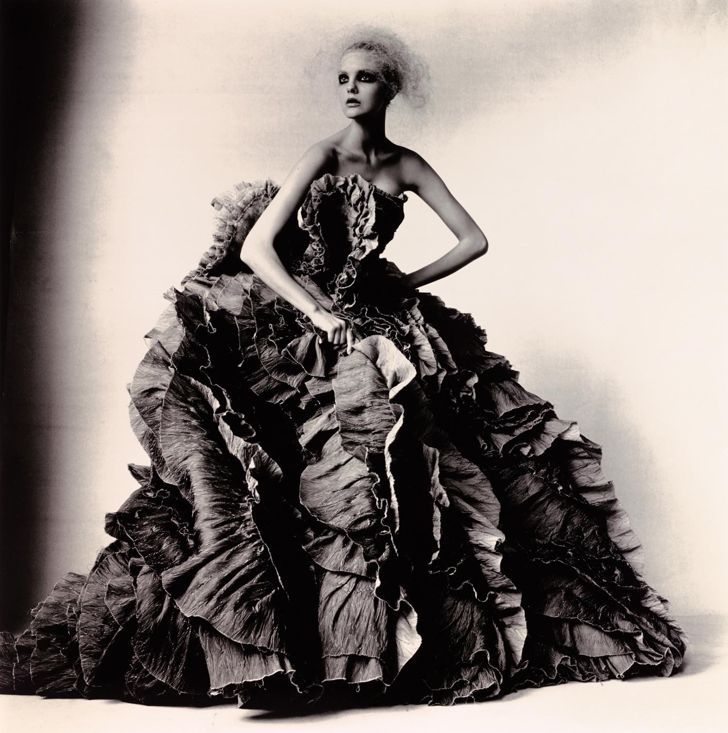 Ball Dress by Olivier Theyskens for Nina Ricci , New York, 2007 Gelatin silver print © Condé Nast